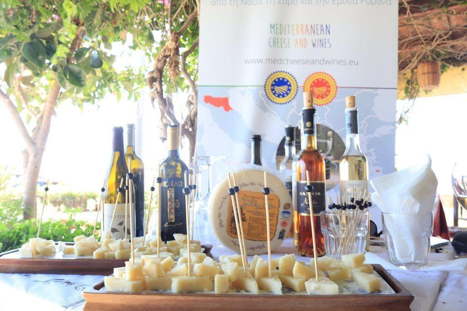 Event at the Petrino Beach Restaurant in Plaka Naxos.